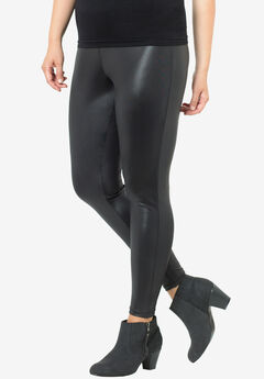 Glossy Legging by Castaluna, BLACK