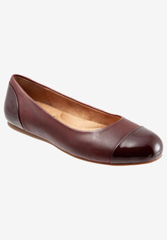 Sonoma Cap Toe Flat by Softwalk®,
