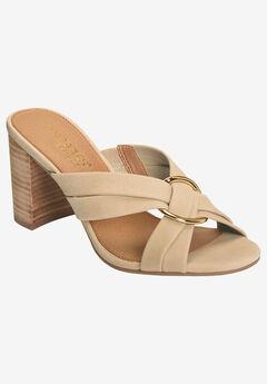 Highwater Sandal by Aerosoles®, BONE NUBUCK