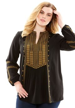 Embroidered Boho,