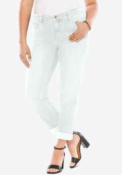 Boyfriend Jean with Invisible Stretch® by Denim 24/7®,