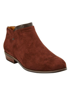 The Bexley Bootie by Comfortview®, DARK BROWN