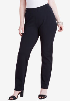 Ultimate Ponte Straight Leg Pant,