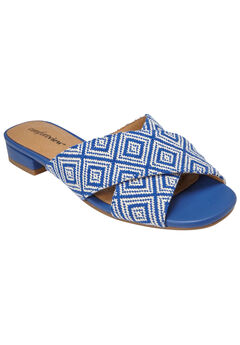 Zuri Sandals by Comfortview®, COBALT NATURAL