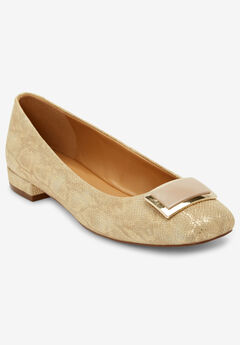 The Delilah Pump by Comfortview®, GOLD