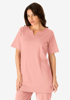 Notch Neck Tunic,