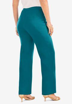 Wide-Leg Bend Over® Pant, DEEP LAGOON