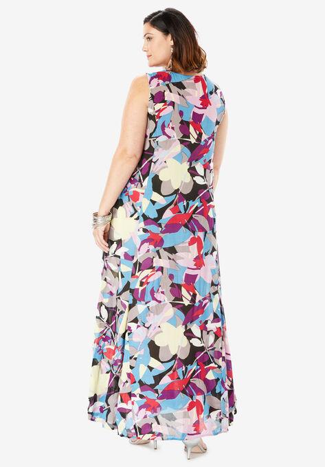 01deac8fc Crinkle A-Line Maxi Dress| Plus Size Maxi Dresses | Full Beauty