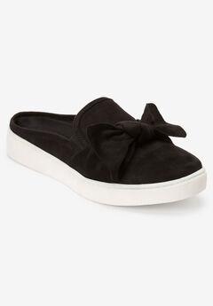 The Cece Mule Sneaker by Comfortview®, BLACK