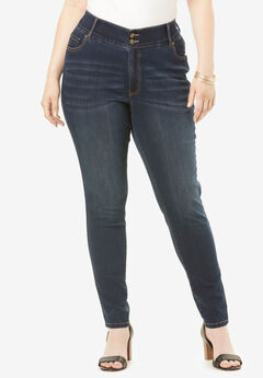 The Skinny-Leg Curvy Jean by Denim 24/7®,