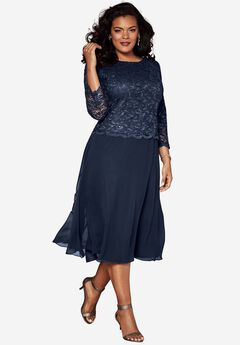 Lace Popover Dress,