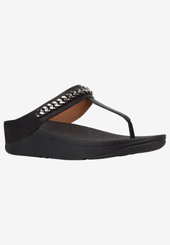Fino Chain Pompom Sandal by FitFlop,