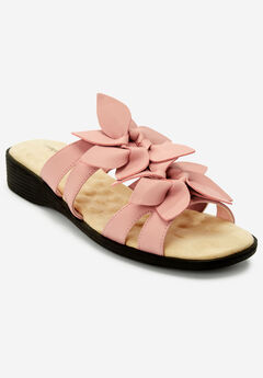 The Paula Sandal by Comfortview®, SILVER PINK