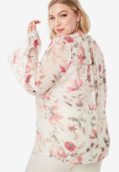 ac2c5c89b42004 Plus Size Long Sleeve Shirts   Blouses for Women
