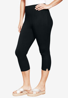 Stretch Capri Leggings,