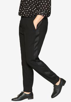 Tuxedo Stripe Pants by Castaluna,