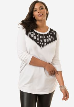 Embroidered Tunic,