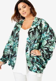 Cocoon Kimono Jacket,