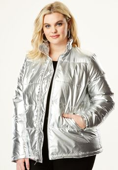 Metallic Ultimate Puffer Jacket,