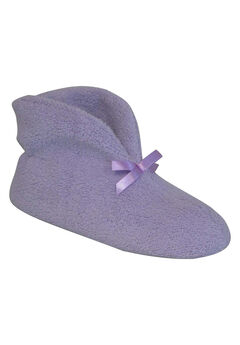Micro Terry Cuff Slipper Booties by Muk Luks®, LAVENDER