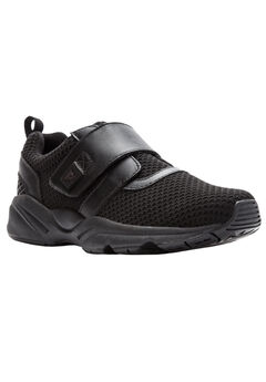 Stability X Strap Sneakers by Propet®, BLACK