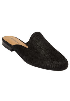 The Jordyn Mule by Comfortview®, BLACK