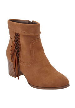 The Christy Bootie by Comfortview®, COGNAC