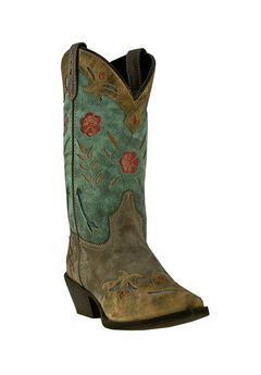 Miss Kate Cowboy Boots by Laredo, BROWN TEAL