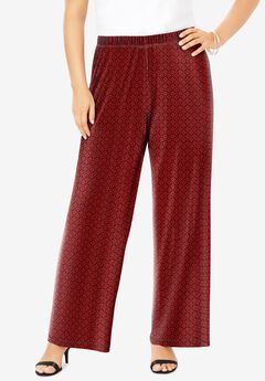 Ultra Smooth Wide-Leg Pant,