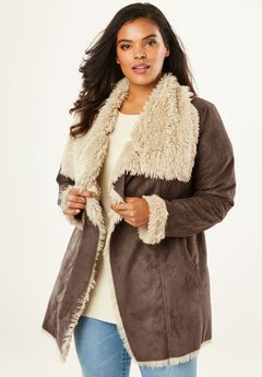 Cascade Shearling Jacket,