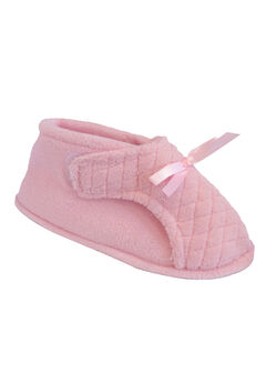 Micro Chenille Adjustable Slipper by Muk Luks®,