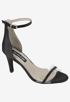 Revere Sandal by Rialto, BLACK SATIN