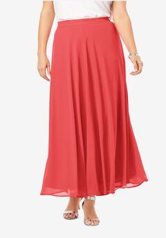 Georgette Maxi Skirt,