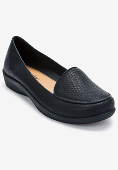 The Jemma Flat by Comfortview®, BLACK
