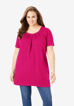 Pleatneck Ultimate Tunic,