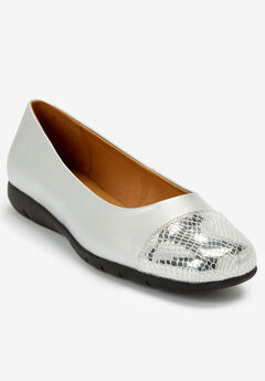 The Fay Flat by Comfortview®, SILVER