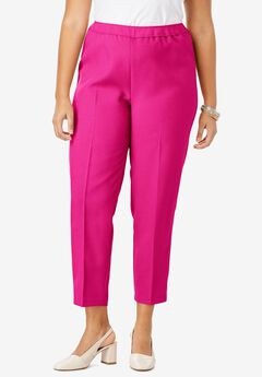 Ankle-Length Bend Over® Pant, VIVID PINK