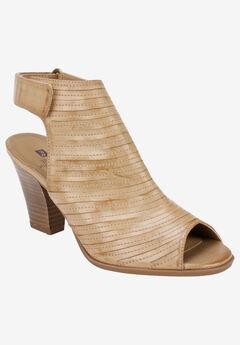 Phoenix Dress Shoe by White Mountain, DARK SAND BURNISHED