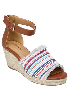 Journee Sandals by Comfortview®, BAJA STRIPE