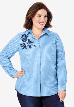 Embroidered Kate Shirt,