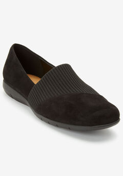The Gray Flat by Comfortview®, BLACK