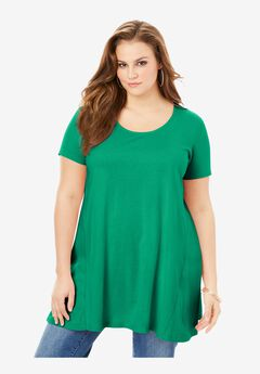 Scoopneck Swing Ultimate Tunic,