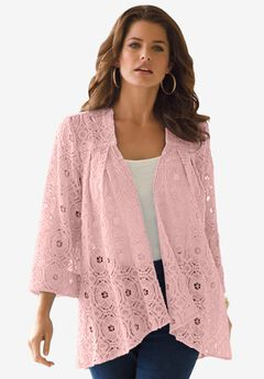Lace Swing Jacket,