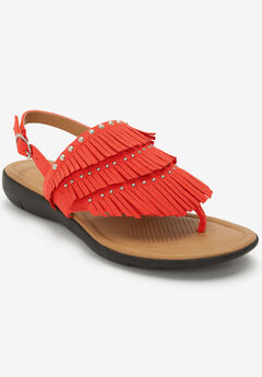 The Emersyn Thong Sandal by Comfortview®,