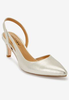 The Albie Slingback by Comfortview®, SILVER