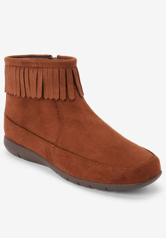 The Marion Bootie by Comfortview®, CHESTNUT