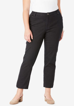 Crop Straight-Leg Jean by Denim 24/7®,