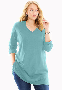 8f8a662b2f790 Plus Size Long Sleeve Tops   T-Shirts for Women