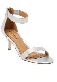 The Stevie Sandal by Comfortview®, SILVER