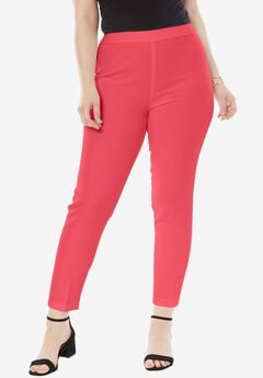 Bend Over® Ankle Pant, CORAL RED
